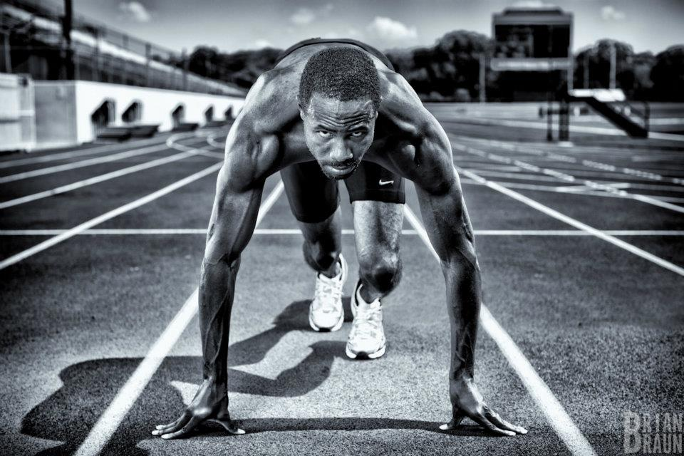Olympics Runner Doc Patton. Brian Braun Dallas Commercial Photographer