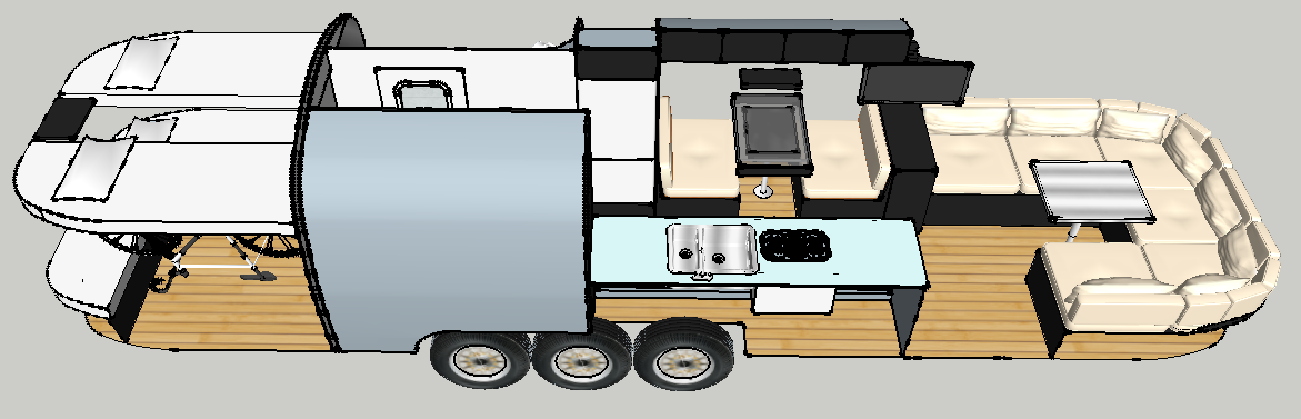 Airstream Renovation The Lay Out Brian Braun